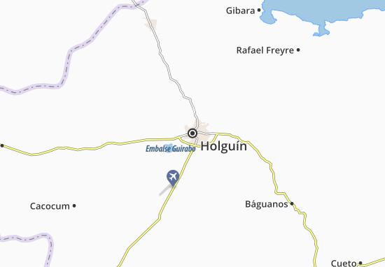 Mapa Plano Holguín