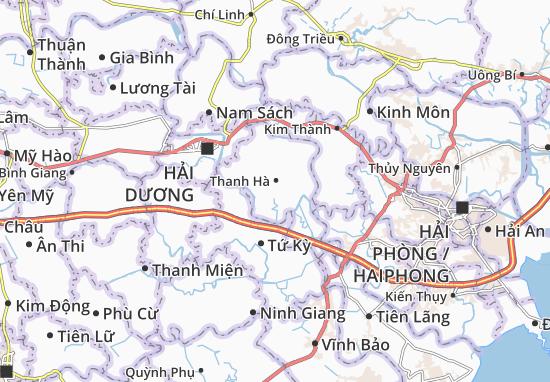 Carte-Plan Thanh Khê