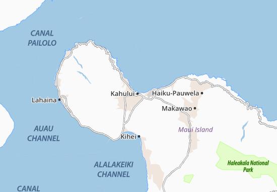 Mapas-Planos Kahului