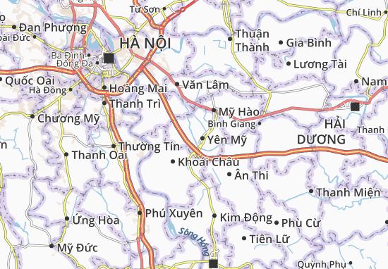 Carte-Plan Thanh Long