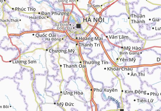 Carte-Plan Duyên Thái