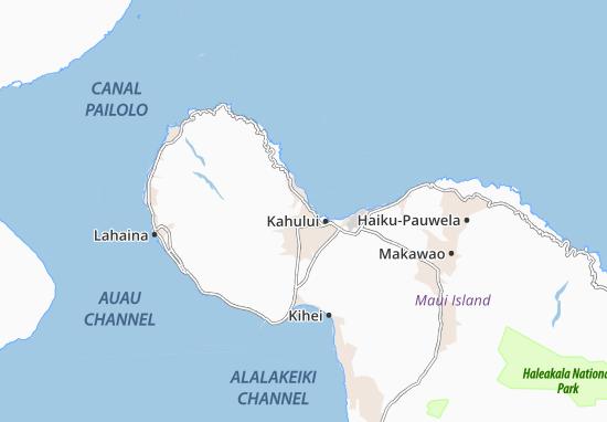 Mappe-Piantine Waihee-Waiehu