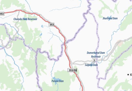Kaart Plattegrond Mograpali