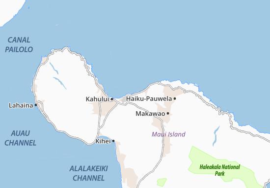 Mapas-Planos Spreckelsville