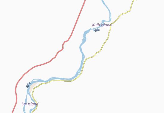 Carte-Plan Ferka-West