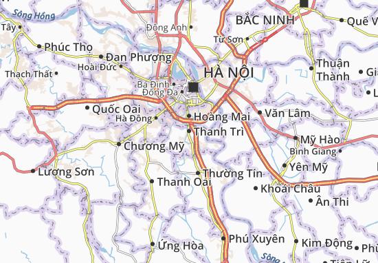Carte-Plan Thanh Trì