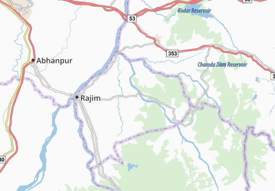 Fingeshwar Map