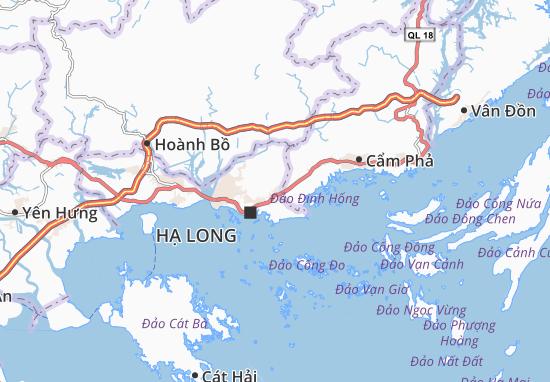 Carte-Plan Hà Phong