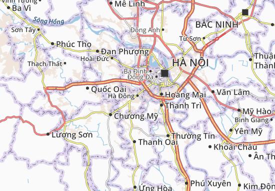 Mappe-Piantine Hà Đông