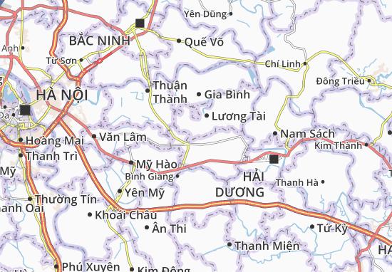 Lâm Thao Map