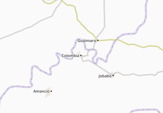 Map of Colombia Michelin Colombia map ViaMichelin – Colombia Tourist Attractions Map