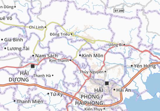 Kinh Môn Map