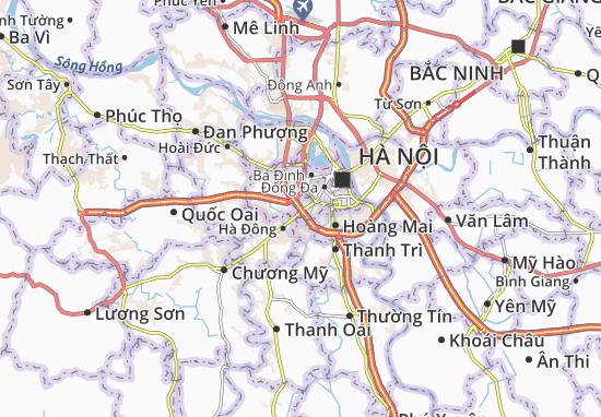 Carte-Plan Thanh Xuân