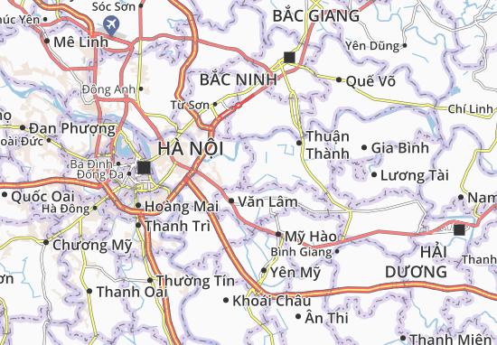 Carte-Plan Xuân Lâm