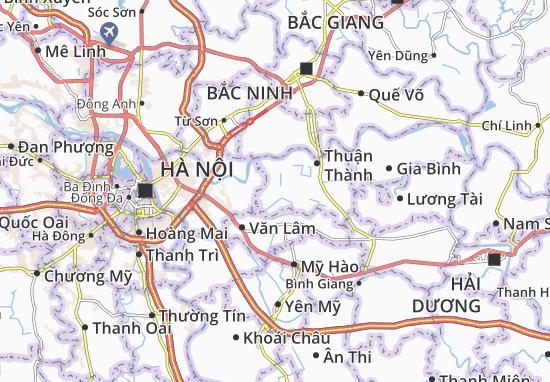 Hà Mãn Map