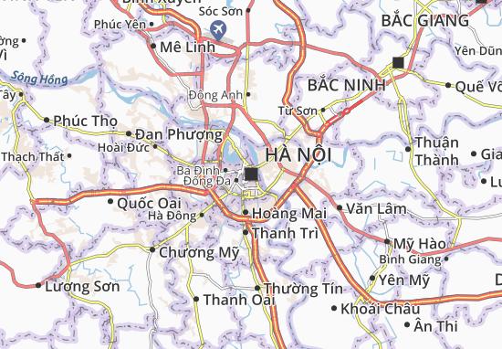Mapas-Planos Hà Nội