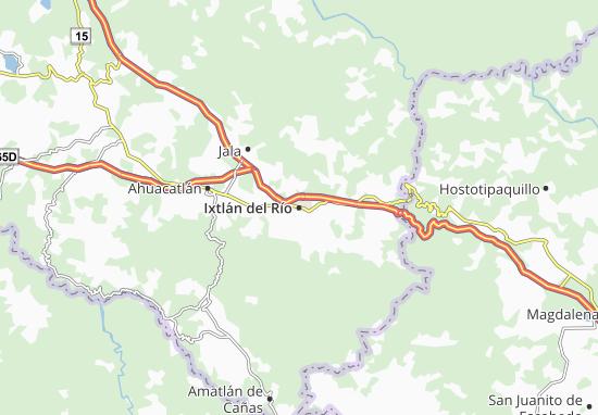 Cartina 5d.Mappa Michelin Ixtlan Del Rio Pinatina Di Ixtlan Del Rio Viamichelin