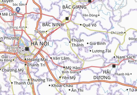 Carte-Plan Gia Đông