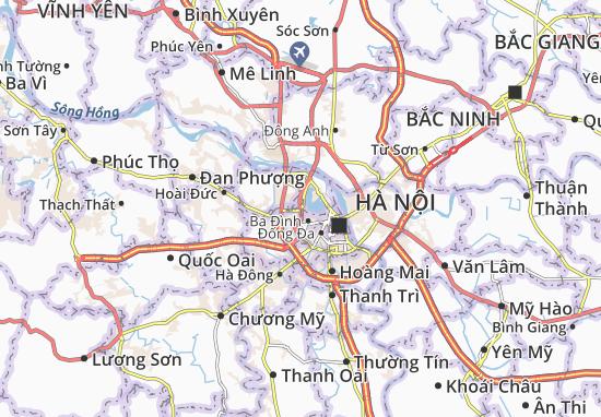 Nghĩa Đô Map