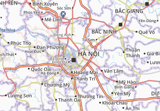 Carte-Plan Long Biên