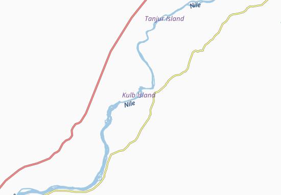 Carte-Plan Kulb East