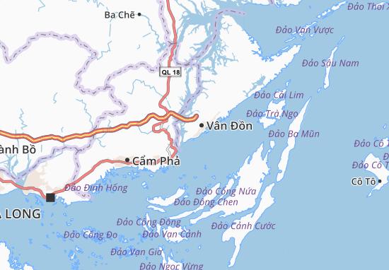 Đông Xá Map