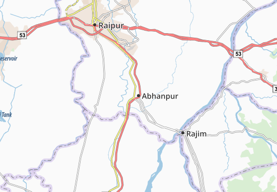 Carte-Plan Abhanpur