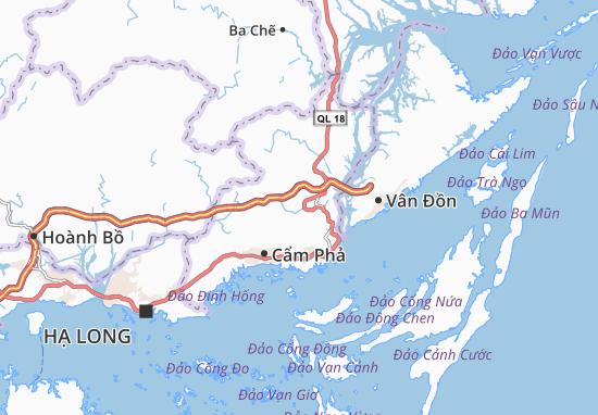 Mông Dương Map