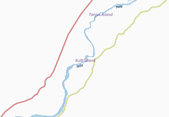 Carte-Plan Kulb-West