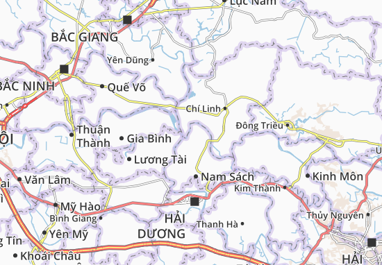 Carte-Plan Nam Hưng