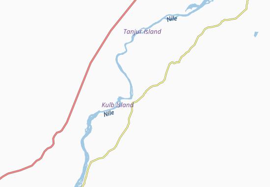 Carte-Plan Akasha East