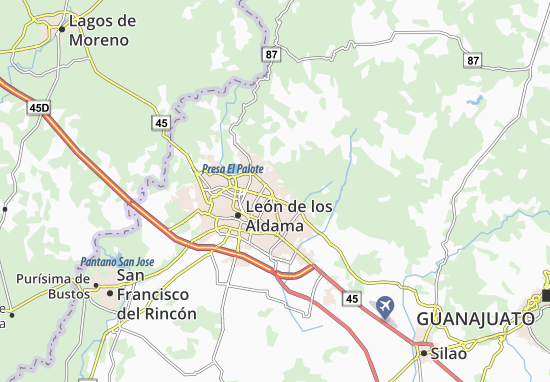 Detailed Map Of Hacienda Los Naranjos Hacienda Los Naranjos Map