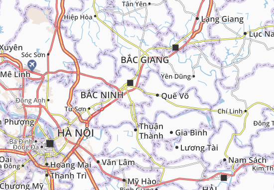 Vân Dương Map
