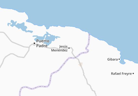 Mapa Plano Jesús Menéndez