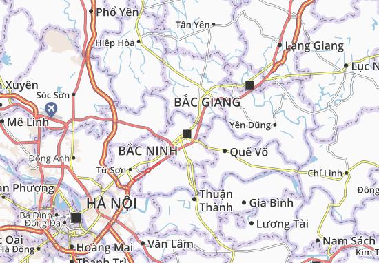 Carte-Plan Vũ Ninh