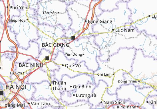 Kaart Plattegrond Nham Sơn