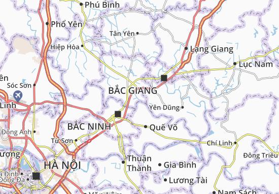Vân Trung Map