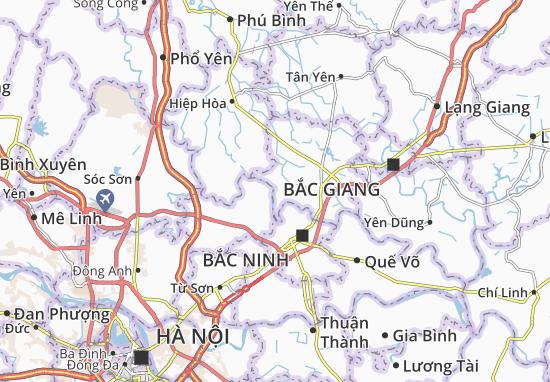 Carte-Plan Tiên Sơn