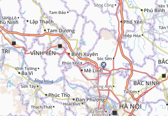 Carte-Plan Nam Viêm