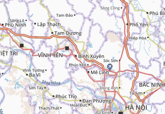 Carte-Plan Sơn Lôi