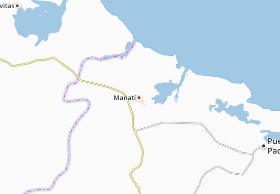 Mapa Plano Manatí