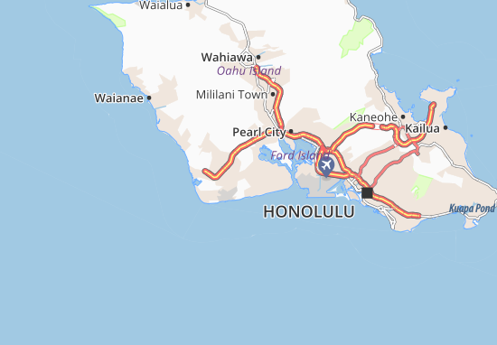 Ewa Villages Map