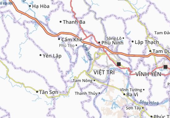 Carte-Plan Thanh Uyên