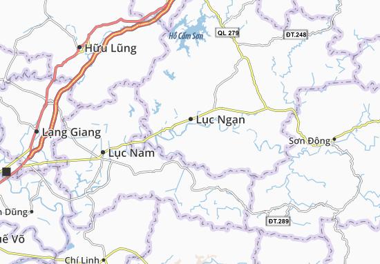 Carte-Plan Nam Dương