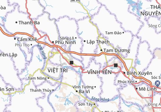 Carte-Plan Cao Phong