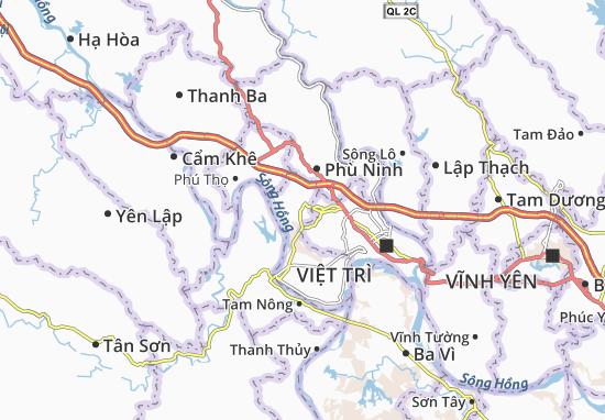 Carte-Plan Hùng Sơn
