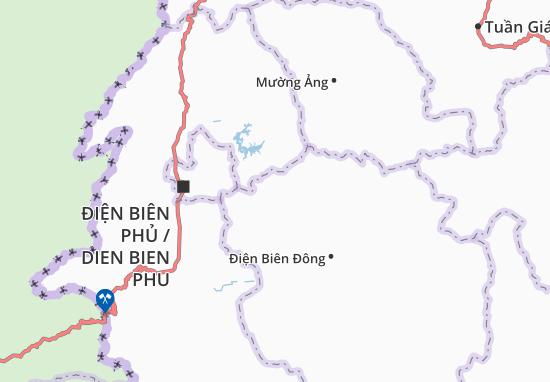 Carte-Plan Pú Nhi