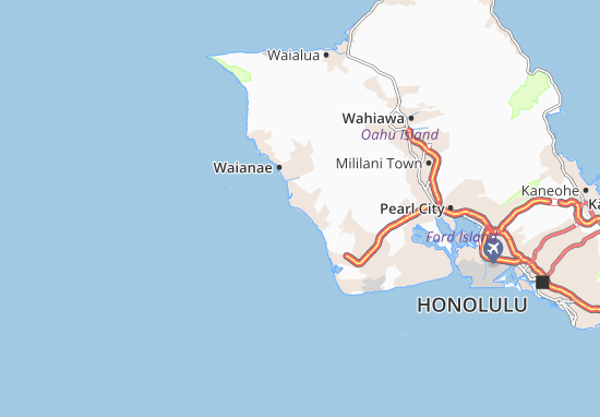 Nanakuli Map