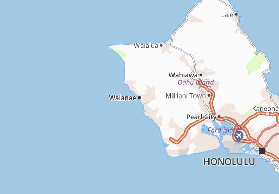 Waianae Map