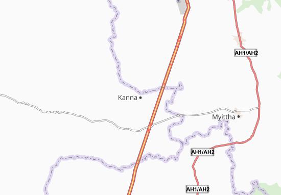 Mapa Plano Kanna